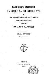La guerra di Giugurta e la congiura di Catilina C. Crispo Sallustio