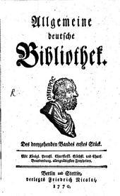 Allgemeine deutsche Bibliothek: Band 13