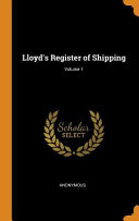Download Lloyd s Register of Shipping  Book
