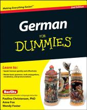 German For Dummies, (with CD): Edition 2