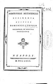 Nosologiae methodicae rudimenta