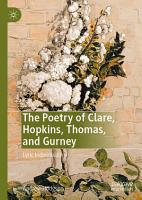 The Poetry of Clare  Hopkins  Thomas  and Gurney PDF