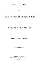Report of the Commissioner of the General Land Office PDF