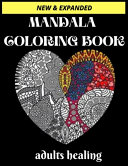 Mandala Coloring Book Adults Healing