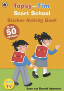 A Ladybird Topsy and Tim Start School Sticker Activity Book