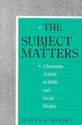 The Subject Matters Book PDF