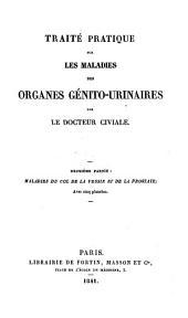 Maladies Du Col De La Vessie Et De La Prostate; Avec cinq planches: 2