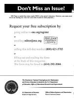 Becoming Literate in Mathematics and Science