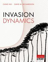 Invasion Dynamics PDF