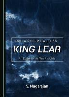 Shakespeare s King Lear PDF