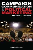 Campaign Communication and Political Marketing PDF