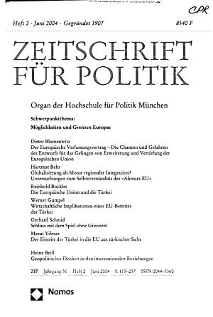 Zeitschrift f  r Politik PDF