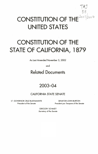Constitution of the United States Book