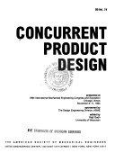 Concurrent Product Design