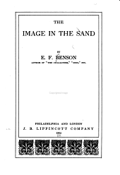 The Image in the Sand: Volume 1