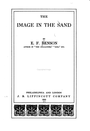 The Image in the Sand PDF