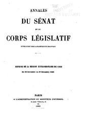Annales du Sénat et du Corps législatif: Volume2