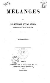 Mélanges...