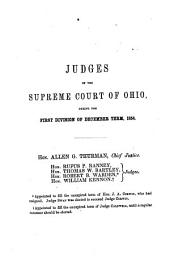 Reports of Cases Argued and Determined in the Supreme Court of Ohio: Volume 3
