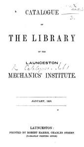 Catalogue of the Library, etc