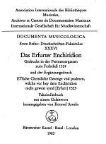 Das Erfurter Enchiridion ...