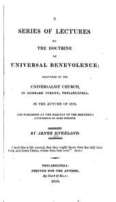 A Series of lectures on the doctrine of universal benevolence