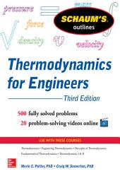 Schaum's Outline of Thermodynamics for Engineers, 3rd Edition: Edition 3