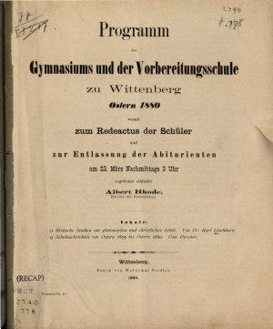 Kritische Studien zur platonischen und christlichen Ethik PDF