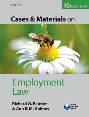 Cases and Materials on Employment Law PDF
