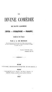 La divine comédie de Dante Alighieri, tr. en vers fr. par J.A. de Mongis