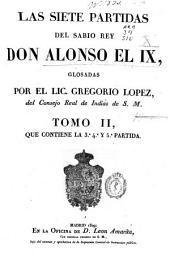Las Siete Partidas del Sabio Rey Don Alonso el IX: Volumen 2