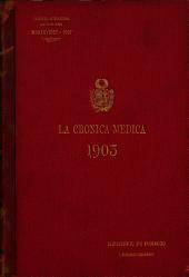 La Crâonica mâedica: Volumen 20,Números 337-460