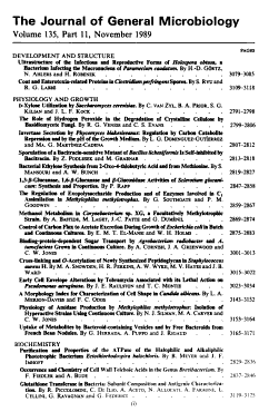 The Journal of General Microbiology PDF