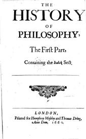 The History of Philosophy: Parts 1-3