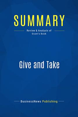 Summary  Give and Take PDF