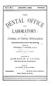 The Dental Office and Laboratory: Volumes 3-4