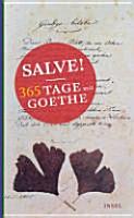 Salve  365 Tage mit Goethe PDF