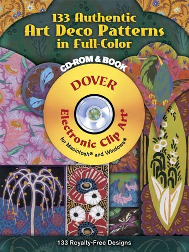 133 Authentic Art Deco Patterns in Full Color PDF