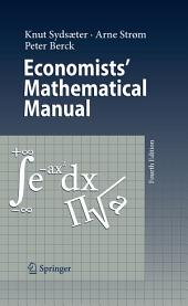 Economists' Mathematical Manual: Edition 4