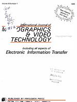 The International Journal of Micrographics   Video Technology PDF