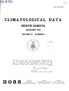Climatological Data Book