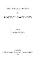 The Poetical Works of Robert Browning PDF