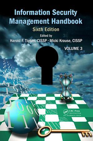 Information Security Management Handbook  Sixth Edition PDF