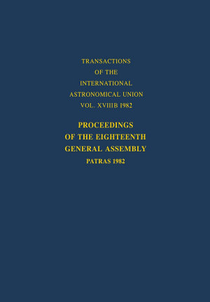 Proceedings of the Eighteenth General Assembly