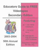Educators Guide to Free Videotapes: Secondary