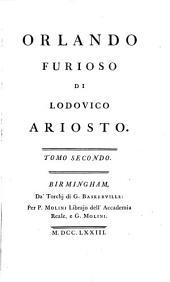 Orlando furioso: di Lodovico Ariosto. ...