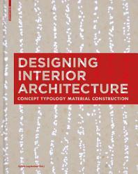 Designing Interior Architecture Book PDF
