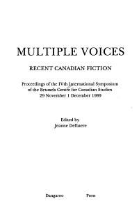 Multiple Voices PDF