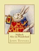 Alice Im Wunderland   Malbuch