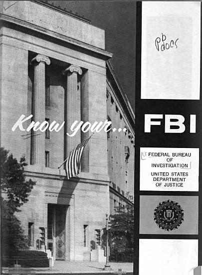 Know Your   FBI  PDF